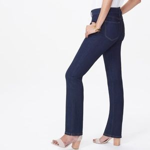 NYDJ Marilyn Straight Leg Mabel Blue Jeans 4